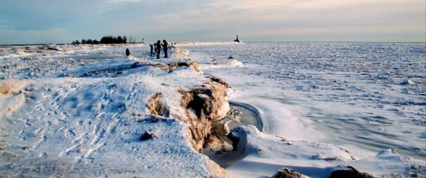 Lake Erie winter